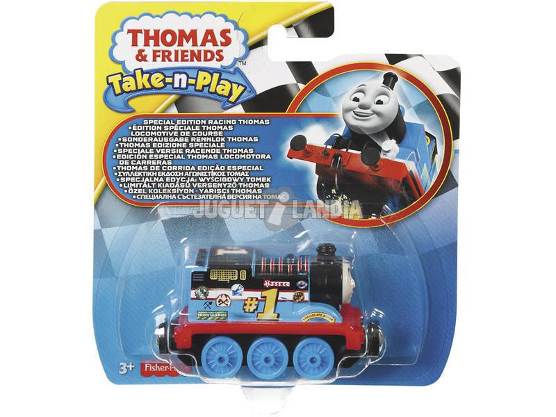 Thomas e seus amigos competindo locomotivas