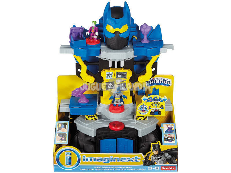 Imaginext Batcueva Transformable Mattel DNF93