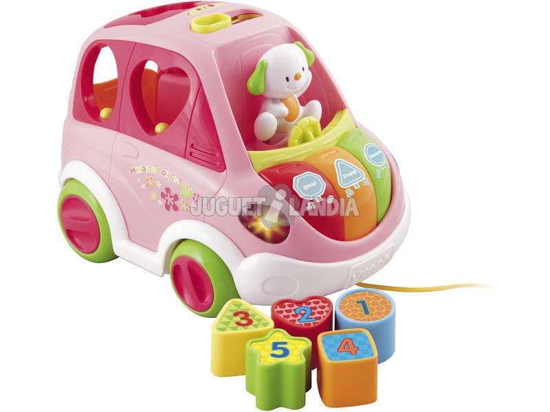 Miniauto de Juguete Colorín Rosa