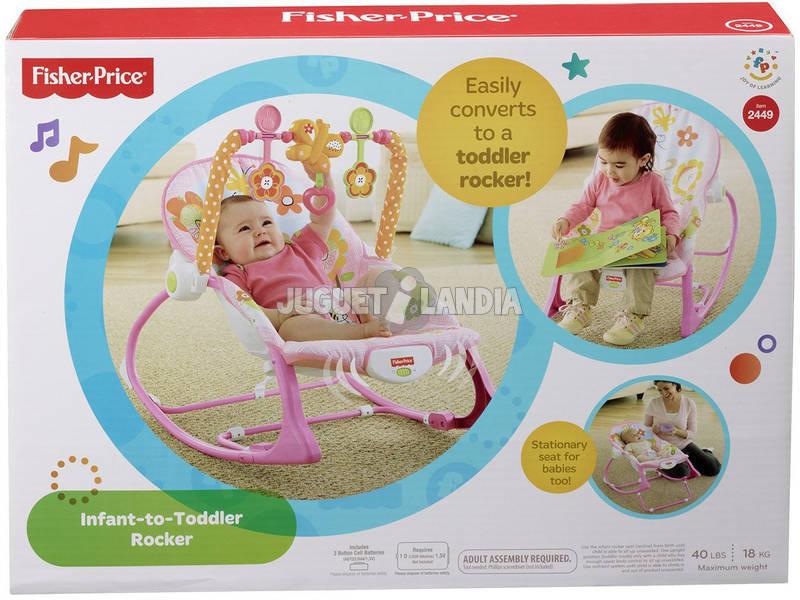 Hamaca Crece Conmigo Rosa Mattel Y8184