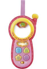 Puericultura Baby Telemóvel Rosa Vtech 111357