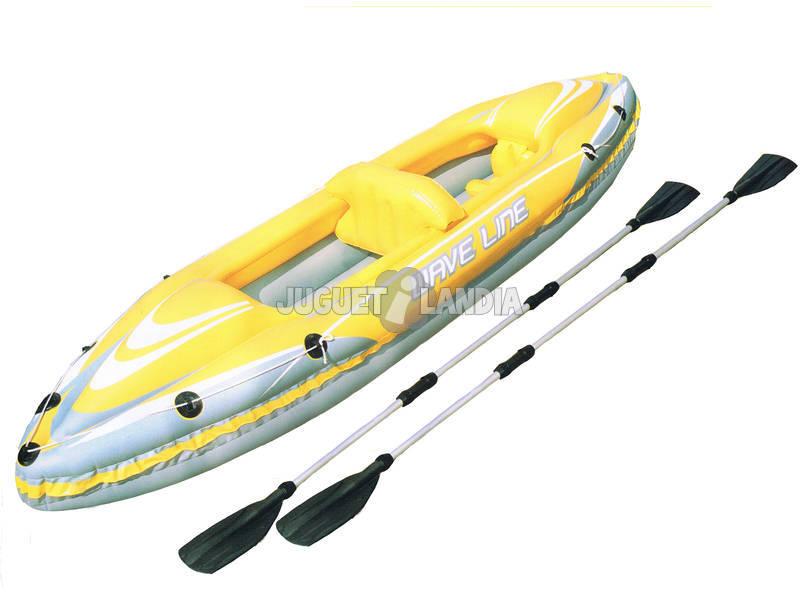 Kayak Wave Line (2 Personas) 371x109 Cm Bestway 65020B
