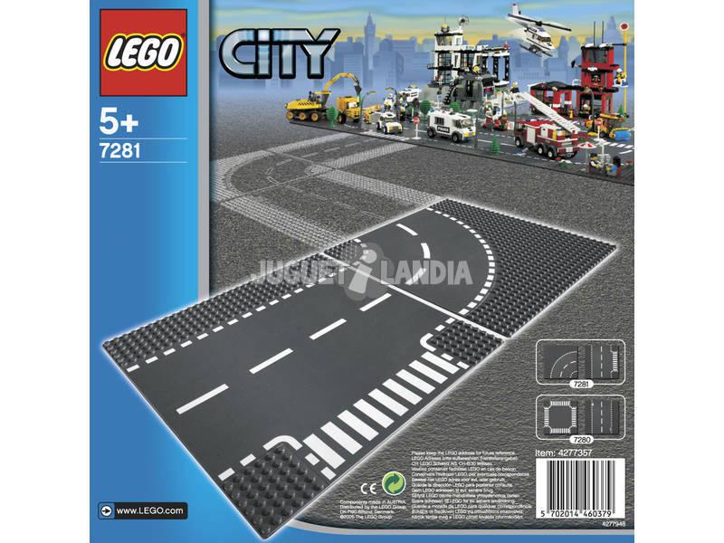 Lego City Juntas En T y Curvas 7281