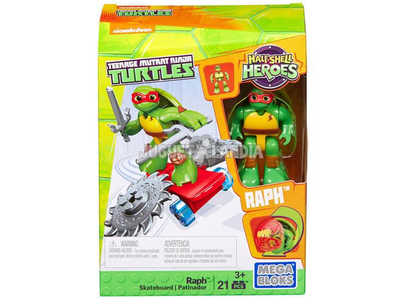 Mega Bloks Tortugas Ninja Rueda y Destruye