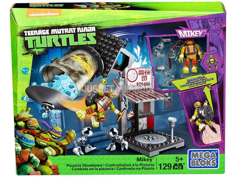 Mega Bloks Tartarugas Ninja Combate na Pizzaria