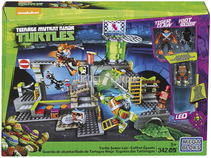Mega Bloks Tortugas Ninja Guarida De Alcantarillas