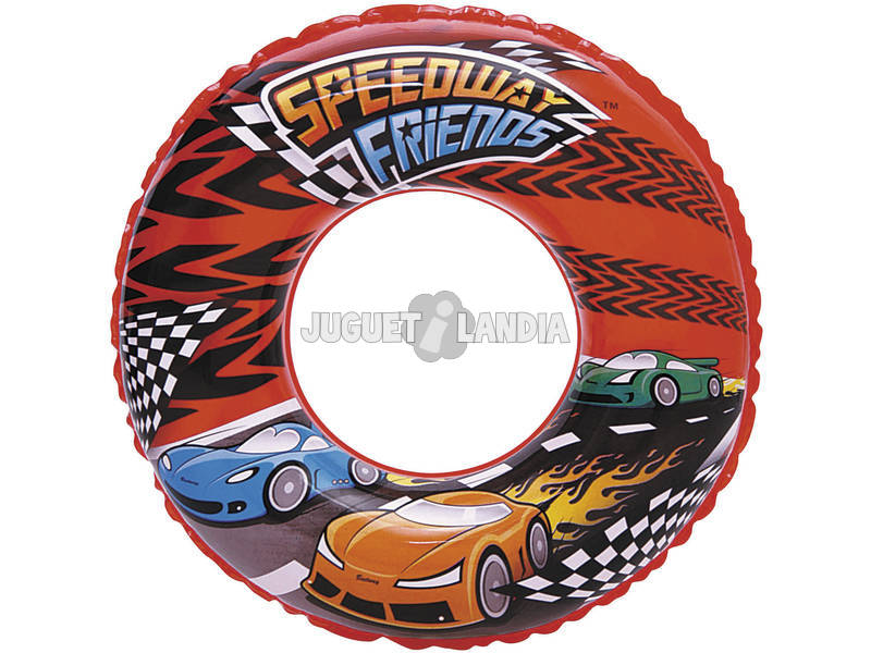Flotador Speedway Friends de 51 Cm Bestway 36105B