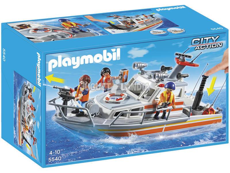 Playmobil Barco de Rescate con Manguera