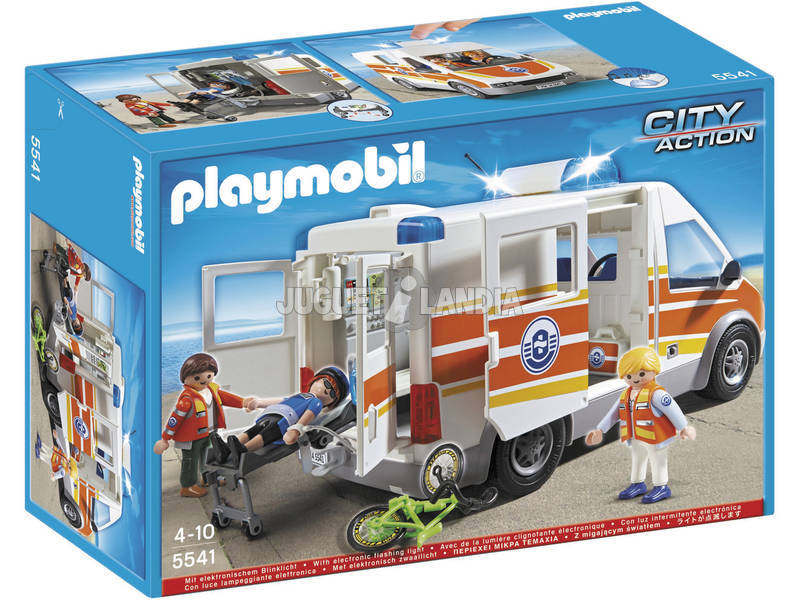 Playmobil Ambulancia con Sirena
