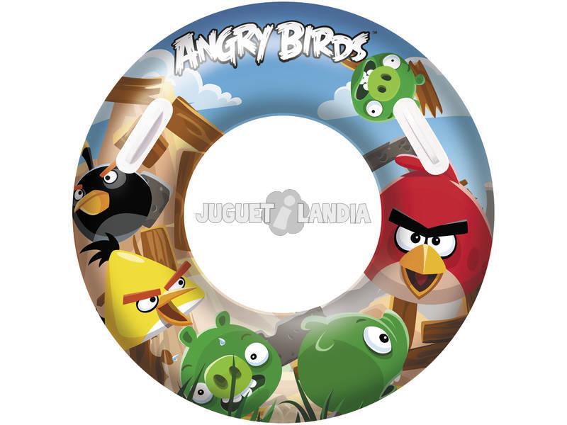Ciambella 91 cm. Angry Birds Bestway 96103B