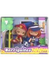 Muñecas Barriguitas Las al Rescate Famosa 700012700