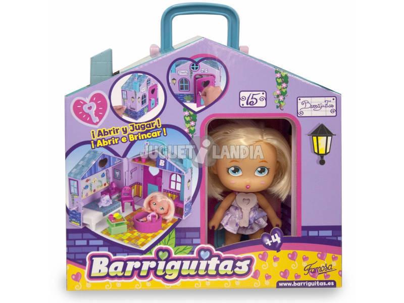 Barriguitas Casita Portabarriguitas Con Muñeca 23x20x12cm Famosa 70012701