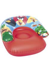 Asiento Hinchable 76x76 cm. Angry Birds