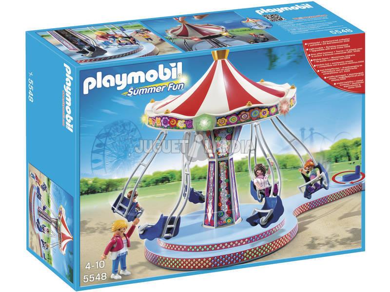 Playmobil Carrousel con Columpios Voladores 5548