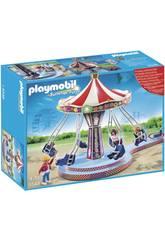 Playmobil Carrousel con Columpios Voladores