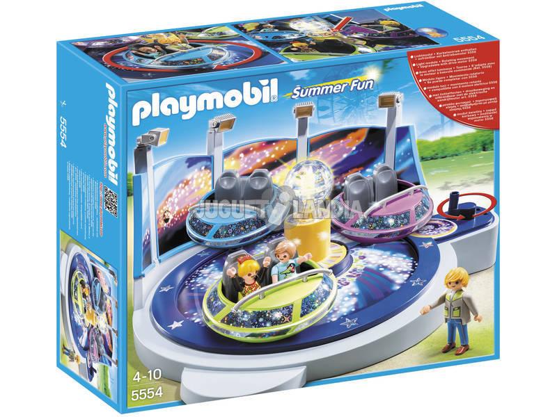 Playmobil Atraccion de Naves Giratorias con Luz