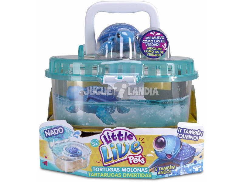 Little Live Pets Tanque y Tortuga Molona