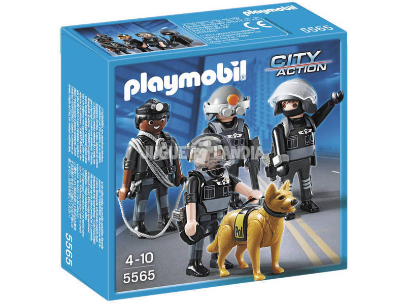 Playmobil Truppa Speciale d'Assalto