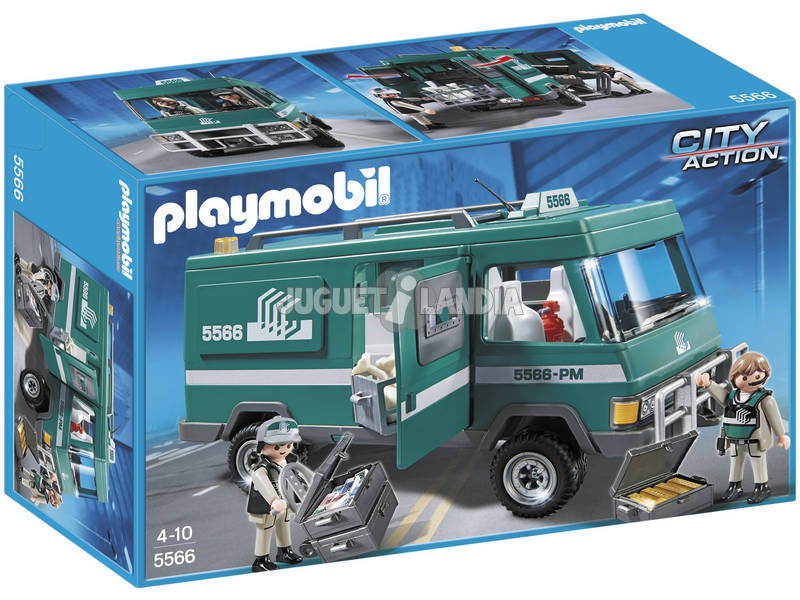 Playmobil Vehiculo Transporte de Dinero