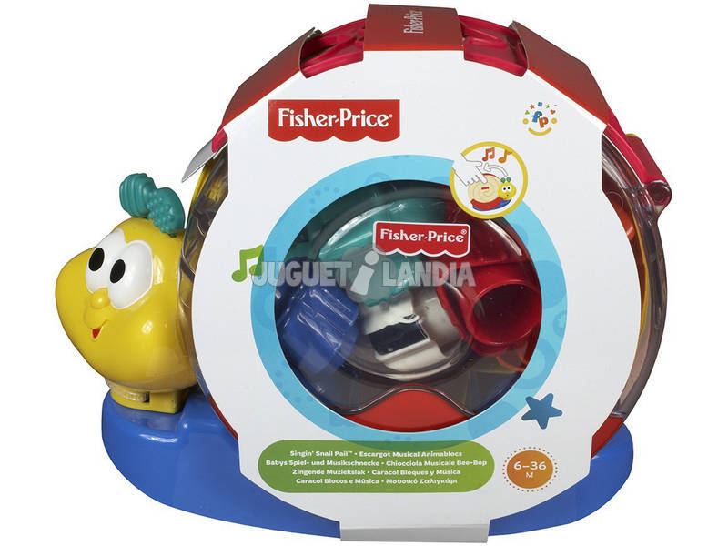 Caracol Fisher Price Bloques y Música Mattel 71922