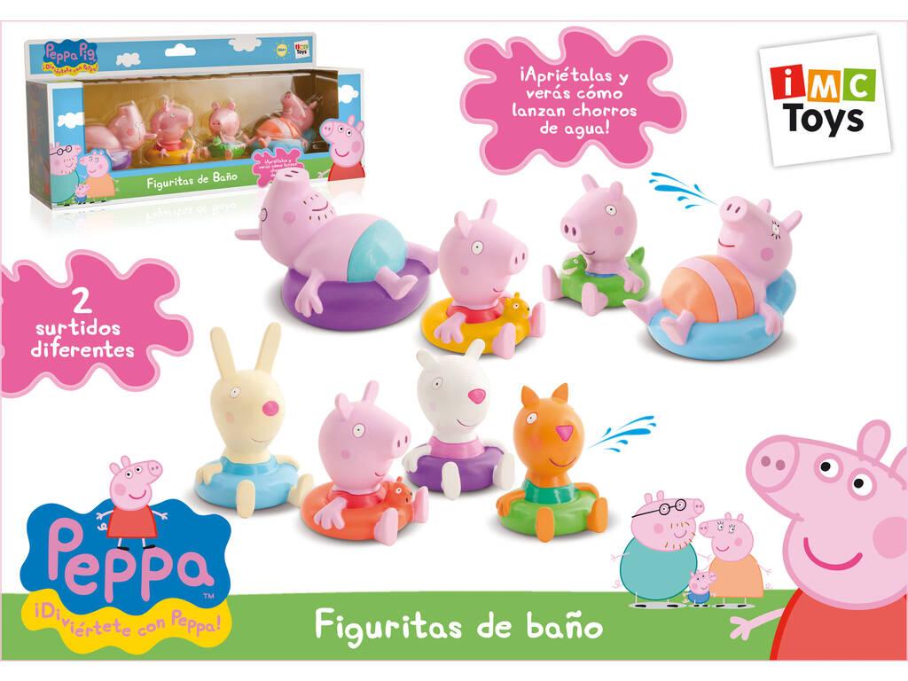 Figuras casa de banho Peppa Pig
