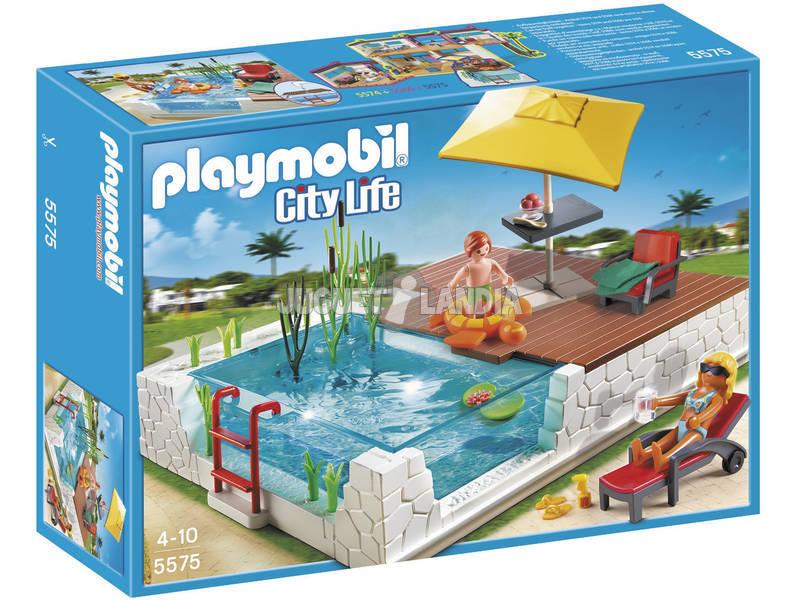 Playmobil Piscina con Terraza