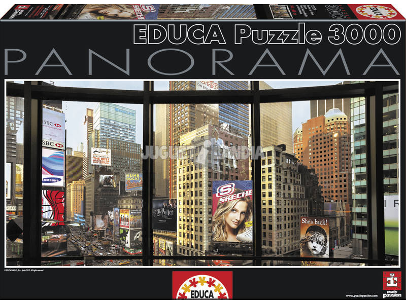 Puzzle 3000 Times Square depuis ma fenêtre