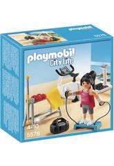 Playmobil Sala de Gimnasio