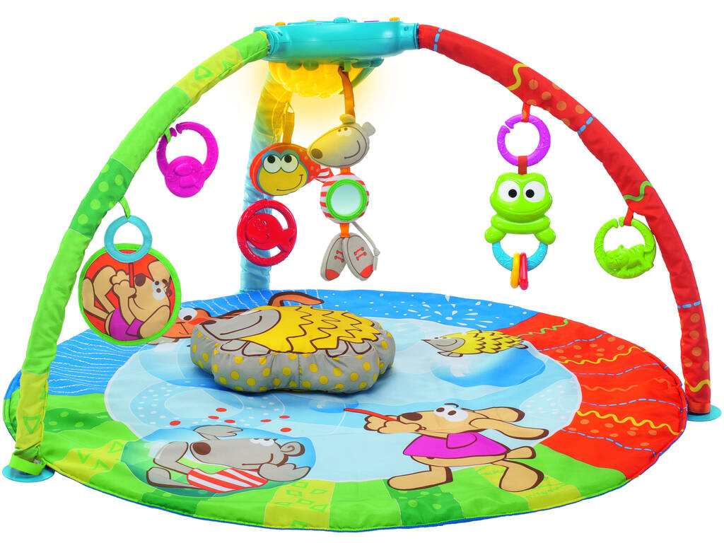 Bubble Gym Alfombra Electronica Chicco 69028
