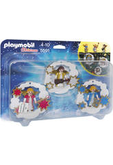 Playmobil décorations de Noël Anges