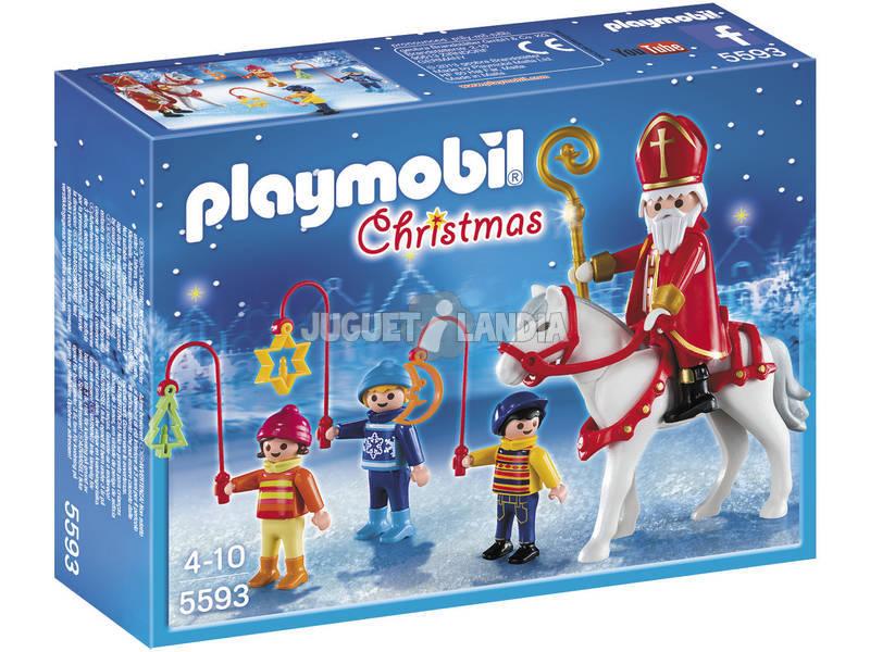 Playmobil San Nicolas con Niños