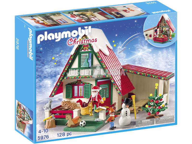 Playmobil Casa de Papa Noel