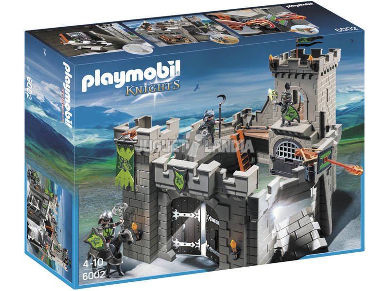 Playmobil Fortaleza dos Caballeros Lobo