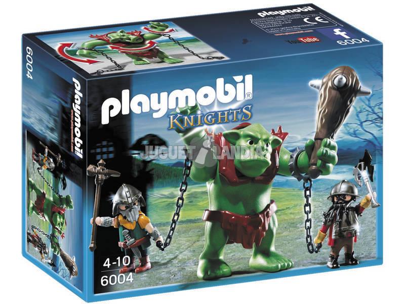 Playmobil Troll Gigante con Luchadores