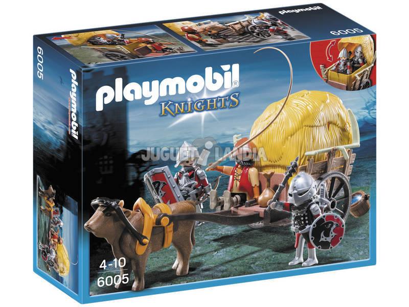 Playmobil Cavaleiros do Falcão com Carruagem