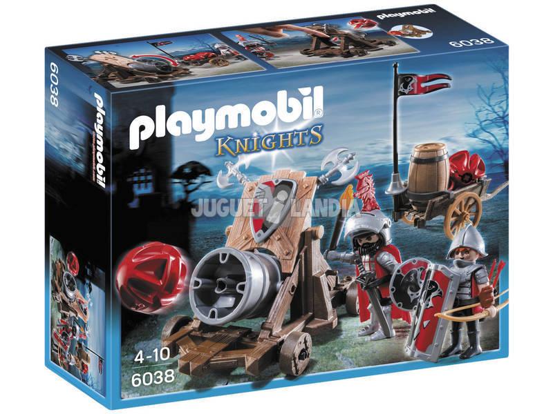 Playmobil Cavaleiros do Falcão com Canhão