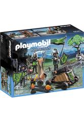 Playmobil Cavaleiros do Lobo com Catapulta