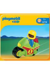 Playmobil 1,2,3 Moto de Carreras