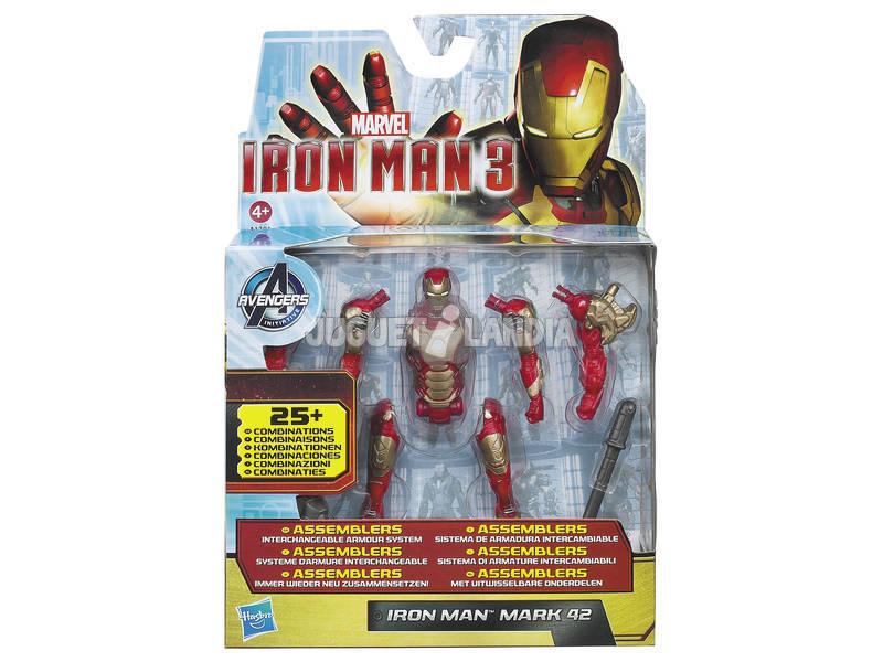 Iron man figuras accion conexion 9 cm.