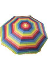 Parasol 200 cm avec 8 baguettes