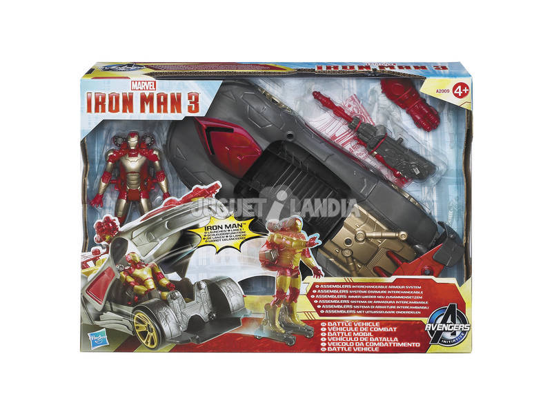 Iron man vehiculo lanza Iron man