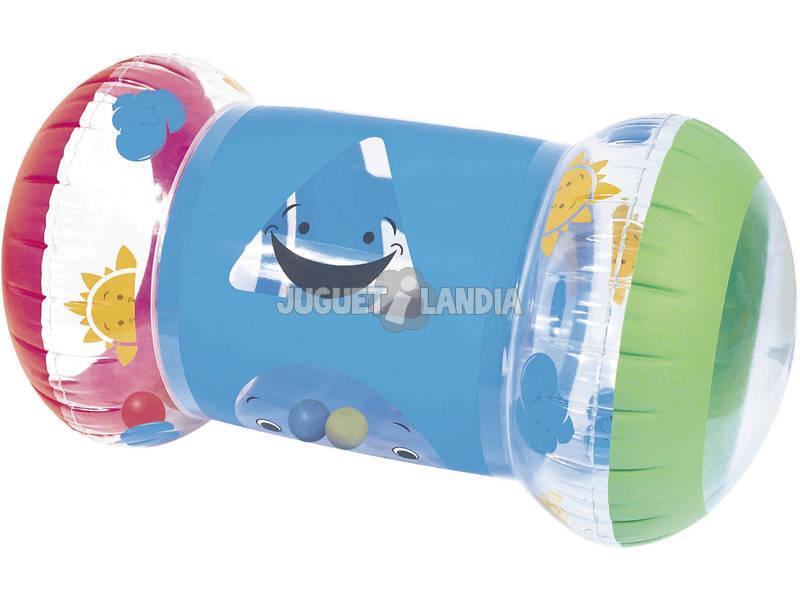 Roller Gonflable Bébé 64x33x33 cm Bestway 52176B