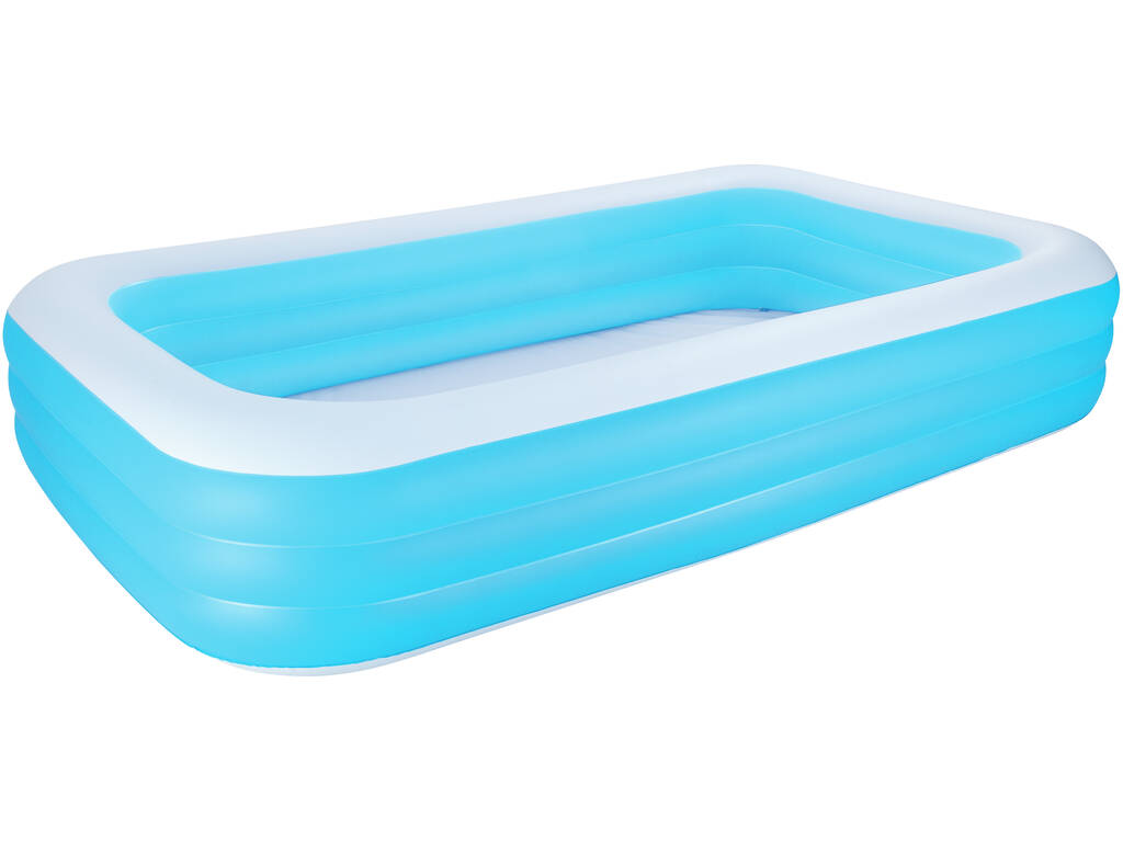 Acheter piscine gonflable 305x183x56 cm rectangulaire for Piscine gonflable rectangulaire