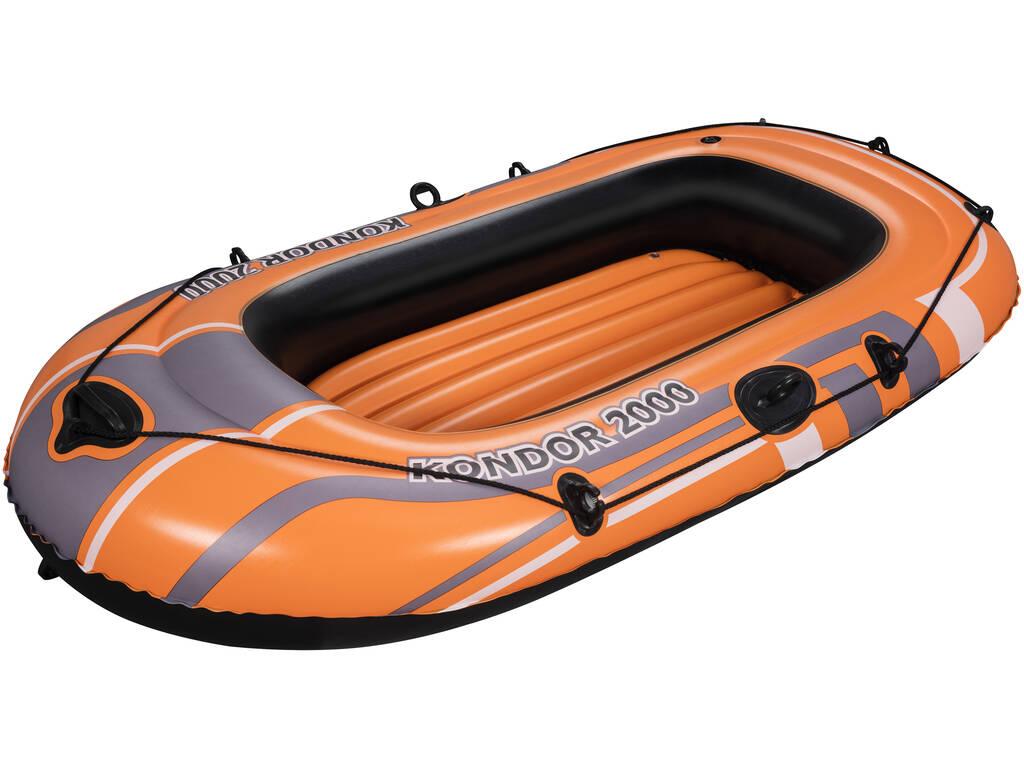 Barca Hinchable Kondor 2000 De 197x115 Cm. Bestway 61100