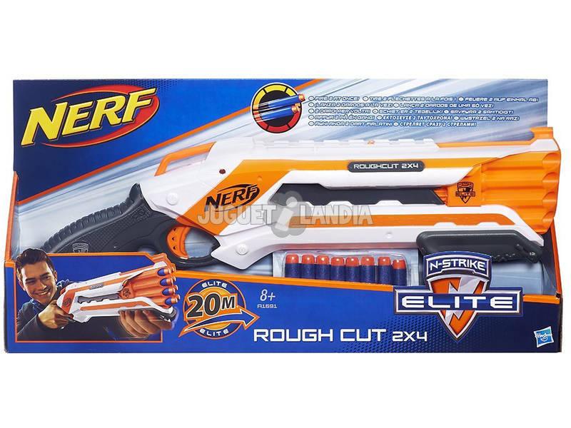 Nerf Elite Rough cut 2X4 8 Dardos HASBRO A1691