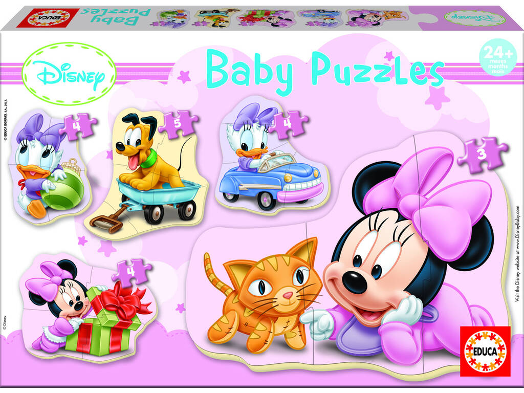 Puzzle Baby Minnie Educa 15612