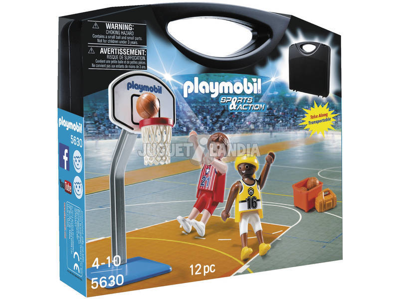 Playmobil Valise Basketball