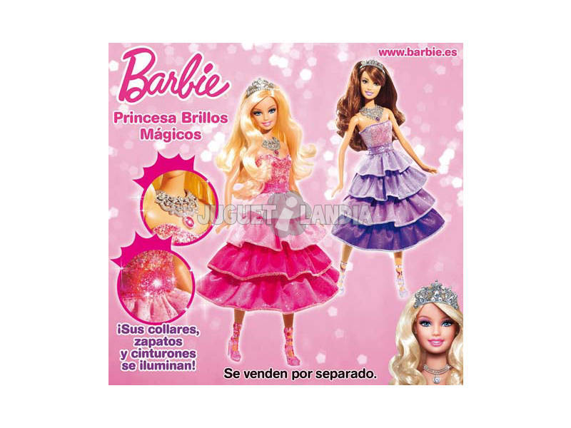 BARBIE PRINCESA BRILLOS MAGICOS