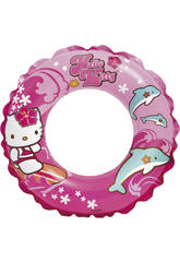 imagen Flotador Hinchable Hello Kitty 51 Cm Intex 56200