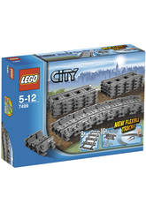 Lego City Trenes Vías Flexibles